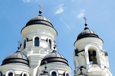 Moldova Orthodox Church by Shutterstock