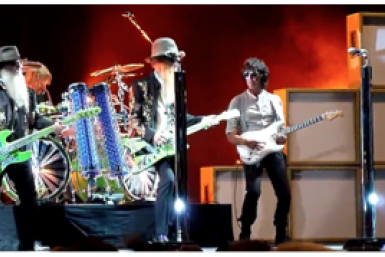 ZZ Top and Jeff Beck