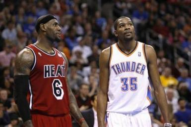 Lebron James Kevin Durant
