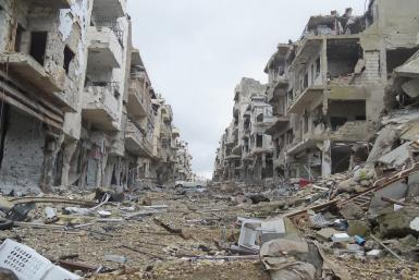 Besieged neighborhood of Homs, Jouret al-Shayah