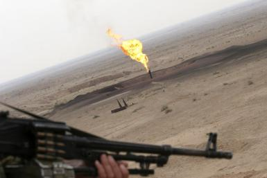 Iraq Oil Well