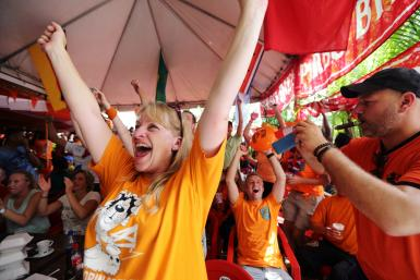 Dutch Fans_WorldCup 2014