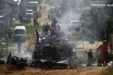 Myanmar riot in May 2014