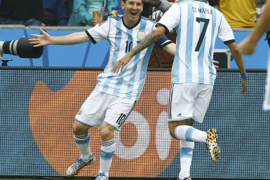 Lionel Messi, Angel di Maria