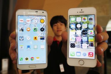 Apple iPhone 5s vs Samsung Galaxy S5