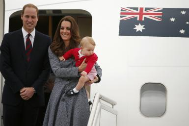 William, Kate & George