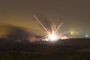 Gaza Rocket Attack_July17