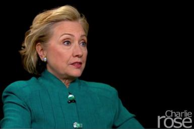 Hillary Clinton on the Malaysia Airlines Crash in Ukraine with Charlie Rose.