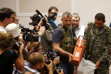 MH17 Black Box Handover