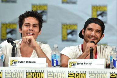 Dylan O'Brien and Tyler Posey 2 San Diego Comic-Con 2014