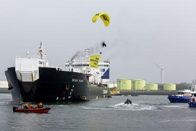 Russia Arctic Oil Drilling Greenpeace