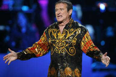 Robin Williams on stage