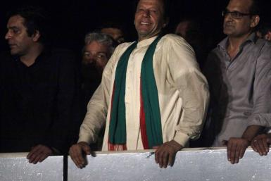 Imran Khan, Aug. 17, 2014