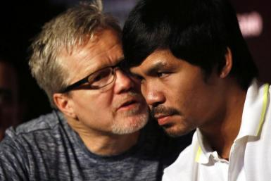 Freddie Roach Manny Pacquiao