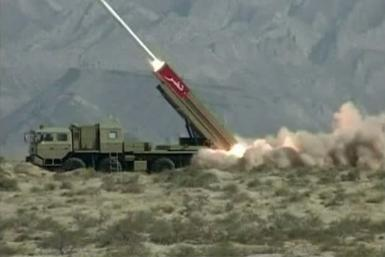 Pakistani ballistic missile launch