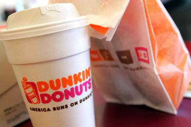 dunkin donuts free coffee day