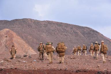 U.S. Marines in Djibouti