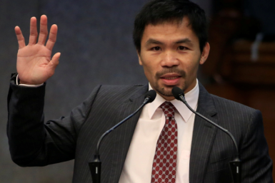Manny Pacquiao wants to have a National Bible Day in the Philippines.