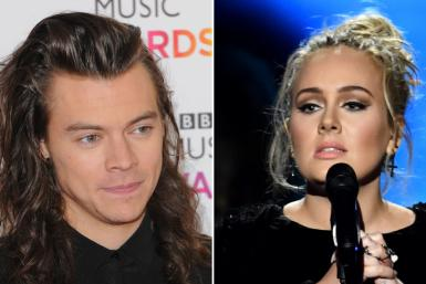 Harry Styles and Adele