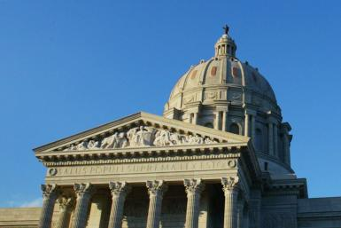 The Missouri State House in Jefferson City