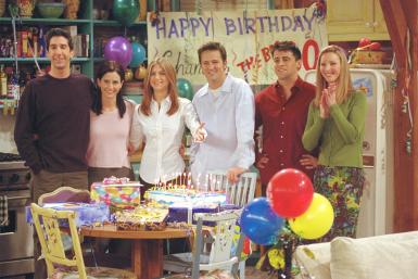 """The Cast of """"Friends'"""