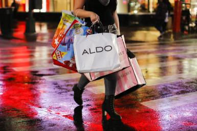 Shopping Bags on Black Friday