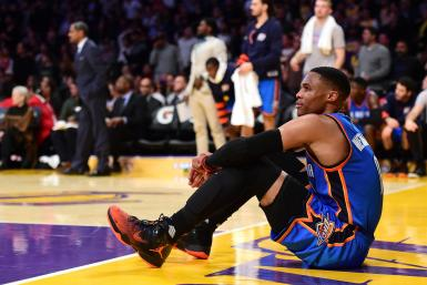 Russell Westbrook Thunder Lakers