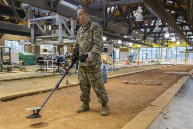 US Army Mine Detector