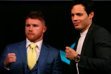 Canelo Alvarez and Julio Cesar Chavez Jr.