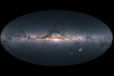 Milky Way Gaia Map