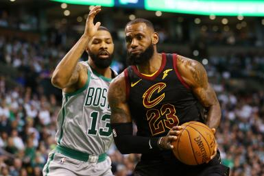 LeBron James Marcus Morris