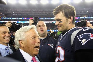 Robert Kraft and Tom Brady