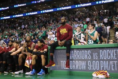 LeBron James Cavaliers Celtics