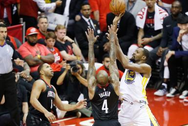 Kevin Durant Warriors Rockets