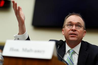 Mick Mulvaney acting CFPB director