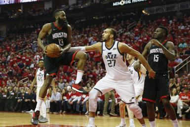 James Harden Rockets Jazz