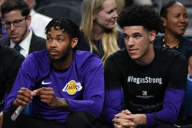 Brandon Ingram and Lonzo Ball