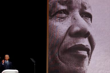 Obama At Nelson Mandela Centenary