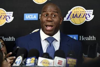 Magic Johnson Los Angeles Lakers