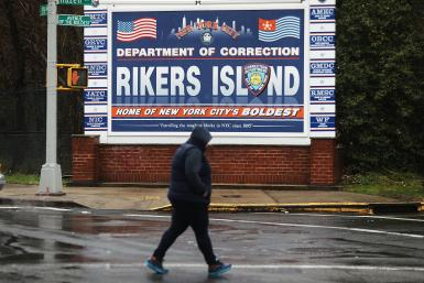 Charged Woman Is Held At Rikers Island