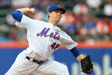 Jacob deGrom Mets Yankees