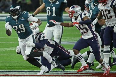 Philadelphia Eagles New England Patriots