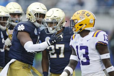 Notre Dame LSU Football