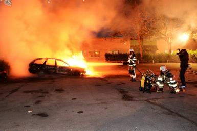 Sweden Violence: Dozens Of Vehicles Fire Bombed