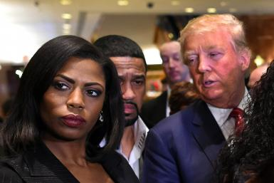 Trump Disputes Omarosa's Claims In New Book