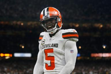 Tyrod Taylor Cleveland Browns