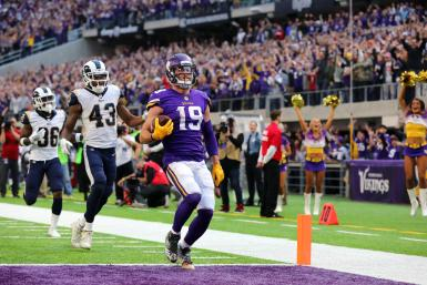 Adam Thielen Vikings Rams