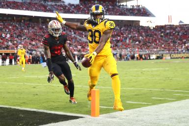 Todd Gurley Rams 49ers