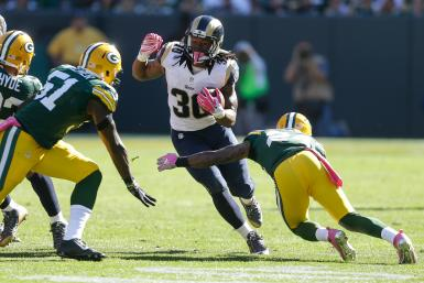 Todd Gurley Rams Packers