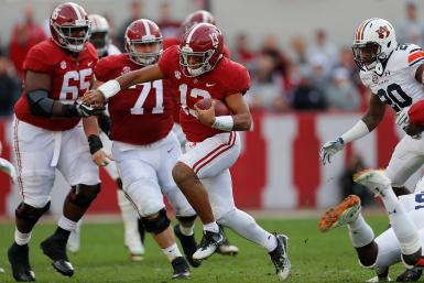 Tua Tagovailoa Alabama Football